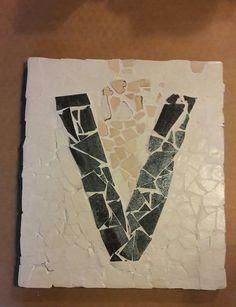Mosaik. Buchtabe V. Von Vanessa