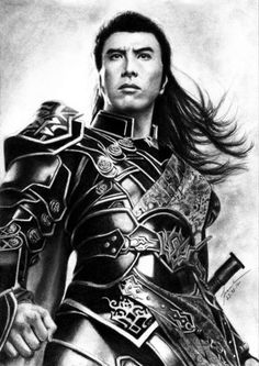 Donnie Yen Drawing