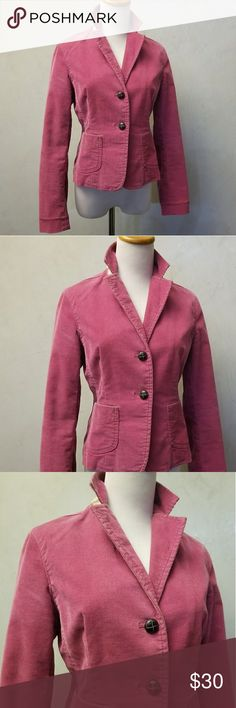 GAP pink corduroy jacket GAP pink corduroy jacket in perfect condition. GAP Jackets & Coats