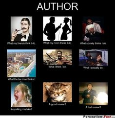 For my author friends.