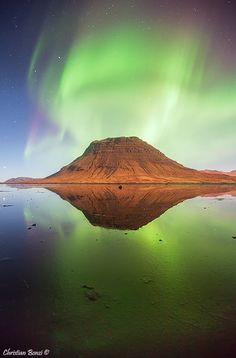 Kirkjufell, Islandia by Christian Bonzi