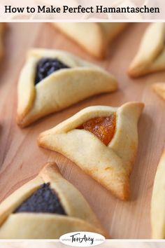How to Make Perfect Hamantaschen - Learn to make perfectly shaped hamantaschen that won't open, spread, or leak in the oven. Tips, dough recipes, folding techniques and troubleshooting. | ToriAvey.com #cookies #hamantaschen #holidaycookies #purim #cookiefilling #hamanshats #howto #kitchentips #purimcookies #cookieartistry #nomnom #dessert #baking #bakingproject #bakethis #todayIlearned #holidayproject #jewishholidays