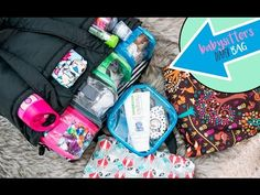 Jujube Super Be - How To Pack For A Babysitter  l  xolivi - YouTube