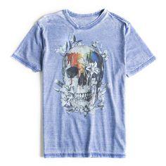 T-shirt-Estampada-Azul