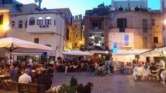Città di Nettuno in una serata estiva