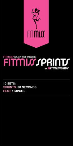 FitMiss Sprints Workout