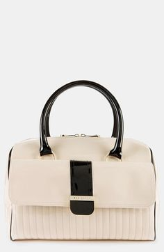 30b107b9b43 Ted Baker London 'Enamel - Colorblock' Quilted Faux Leather Bowler Bag |  Nordstrom