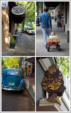 I just want to wander down the street and check out all the fun shops and maybe have lunch at the Golden Valley Brewery Moving To Portland, Portland Oregon, Mcminnville Oregon, Oregon Wine Country, Oregon Washington, Stay Overnight, Willamette Valley, Oregon Travel, Wine Storage