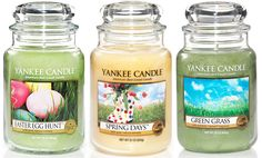 Yankee Candles! (particularly when theyre on special at homestore)