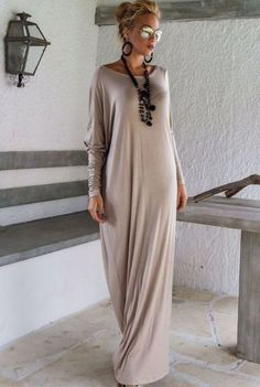 Stylish And Elegant Long-sleeved Loose Dress
