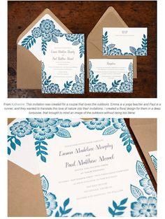 ナチュラルコンセプトなウエディング招待状デザイン | Weddingcard.jp