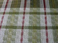 FlaxandFleece weaving blog: linen curtains Ms and Os