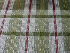 FlaxandFleece weaving blog: linen curtains Ms and Os