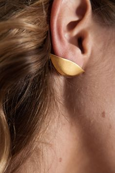 lobe earrings - by ?