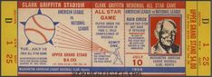 20 ASSORTED  BASEBALL ALL-STAR GAME VINTAGE UNUSED FULL TICKETS reproductions New York Yankees Tickets, Baseball Tickets, Game Tickets, Ticket Stubs, Nhl Stanley Cup Finals, Baltimore Colts, Game 7, Mickey Mantle