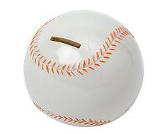 Mini Baseball Kids Piggy Bank Room Decor Blowfish http://www.amazon.com/dp/B00BKAP3LK/ref=cm_sw_r_pi_dp_0Lvzvb1Q992QR