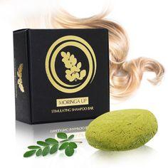 Moringa Up! Tuhý šampón proti vypadávaniu vlasov Shampoo Bar