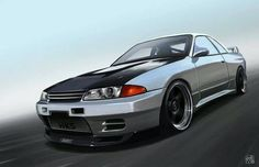 DeviantArt is the world's largest online social community for artists and art enthusiasts, allowing people to connect through the creation and sharing of art. Nissan Skyline Gtr R32, R32 Skyline, Nissan R35, Tuner Cars, Jdm Cars, Japanese Domestic Market, Japanese Cars, Fast Cars, Sport Cars