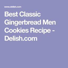 Best Classic Gingerbread Men Cookies Recipe - Delish.com