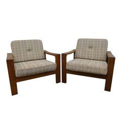 Danish Oak Armchairs £780