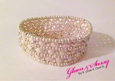 Pure Ivory Bracelet  $22.00 Product Description |  Stretchy & Wraps around wrist  Pearl detail with embellished sparkly gems  To purchase: https://glamandsassy.com/product/pure-ivory-bracelet/  ✔️Comment with your email and we will send you an invoice!  #ShowYourSparkle ✨ #GlamAndSassy