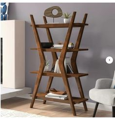 online shopping for Woodcrest Etagere Bookcase Langley Street? from top store. See new offer for Woodcrest Etagere Bookcase Langley Street? Bookcase With Glass Doors, Small Bookcase, Bookshelves, Mid Century Modern Bookcase, Mid Century Modern Furniture, Office Furniture, Home Furniture, Street Furniture, Luxury Furniture