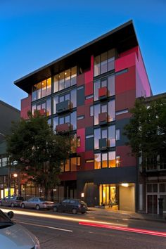 Urban Flat Condominium Design by Olson Kundig Architects - Modern House Furnitures Architecture Design, Facade Design, Residential Architecture, Exterior Design, House Design, School Architecture, Exterior Colors, Mix Use Building, Mixed Use Development