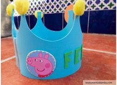 Una corona para el rey de la fiesta