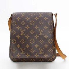 Louis Vuitton Musette Salsa Short Monogram Shoulder bags Brown Canvas M51258