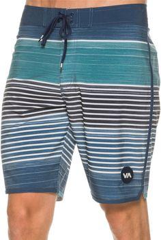 """RVCA Sunday Stripe 19"""" Boardshort. http://www.swell.com/New-Arrivals-Mens/RVCA-SUNDAY-STRIPE-19-BOARDSHORT?cs=IN"""