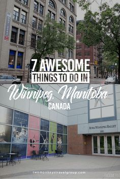 Located at the geographic centre of Canada, Winnipeg is the provincial capital of Manitoba. Here are 7 awesome things to do in Winnipeg, Manitoba, Canada. Visit Canada, Canada Trip, Stuff To Do, Things To Do, Canadian Travel, Western Canada, Roadtrip, Vacation Trips, Travel