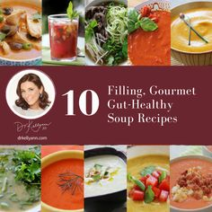 What's for dinner?! Here are 10 quick, delicious, gourmet (FREE!) soup recipes that will fill you up while slimming you down and healing your gut. Get Your Soup Recipe Gift Now! https://drkellyann.com/soup-recipes/?utm_campaign=coschedule&utm_source=pinterest&utm_medium=Dr.%20Kellyann%20Petrucci&utm_content=Get%20Your%20Soup%20Recipe%20Gift%20Now%21 #WednesdayWellness #HealthyHumpday #HealthyRecipes #PaleoRecipes #HealthyLifestyle #BoneBroth #BoneBrothDiet #GutHealth
