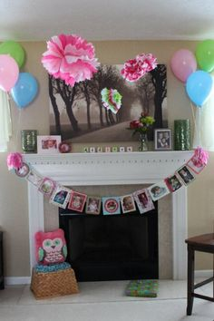 I did this for my daughter's first bday....made me almost cry though when putting together an image for each month! How time flies!