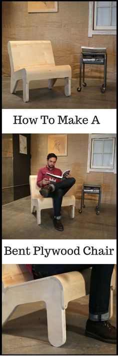 How To Make a Bent Plywood Chair Watch The Video http://vid.staged.com/g0ct