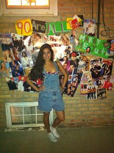 I love planning events (as I previously mentioned). Here is a photo of me as Kelly Kapowski (who didn't watch Saved By the Bell growing up) at my 90's-themed party.