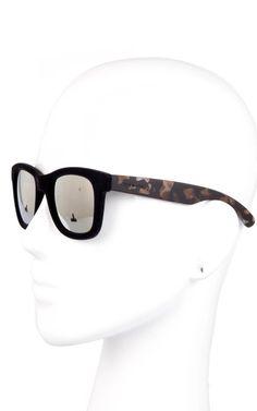 ITALIA INDEPENDENT - Unique Edition for Bagheera velvet sunglasses