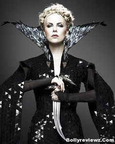 Snow White and the Huntsman- we watched this last night and I loved it. And even though the evil queen is so incredibly evil, Charlize is so incredibly gorgeous!