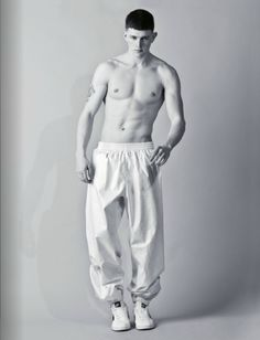 D1 model Michael Morgan by Simon Harris for Beige magazine