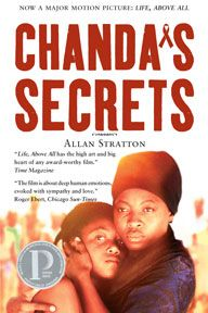 Although listed as a YA novel, Stratton's research has made this novel an informative read for people of all ages. It is not just about Africa but about HIV/AIDS in general http://site.annickpress.com/catalog/catalog.aspx?title=Chanda's Secrets