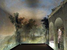 Sala da bagno, affreschi di niccolò contestabile.