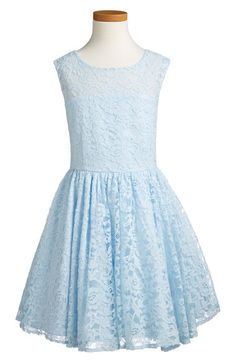 Pippa & Julie Illusion Lace Fit & Flare Dress (Big Girls) available at #Nordstrom