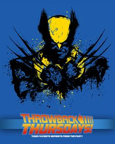 Mutant Rage T-Shirt $10 Wolverine tee at ShirtPunch today only!
