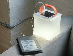 UltraLight Phone Charger: LuminAID Solar Inflatable Lantern. Recharges Tablets, GoPros, Cell Phones and More
