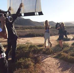 #BehindTheScenes: Something very special coming soon.  #MANGO