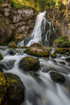 Gollinger Wasserfall by Claudia Domenig on 500px