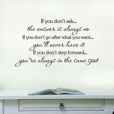"""""""If"""" Inspirational Quotes Wall Sticker"""