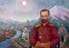 """The """"Mad Baron"""": Lt. General Baron Roman von Ungern-Sternberg. Not too many people have heard of him. One of the great White Russians who attempted to found a Mongolian Empire in defiance of the Bolsheviks."""