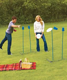 Disc Stix™ Lawn Game | The Lakeside Collection