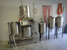 Pilot Brewing System