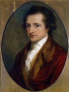 A fiatal Goethe. Goethe as a young man by Angelica Kauffmann (Goethe's House, Weimar)